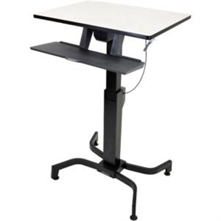 Ergotron Inc. 24 280 926 WorkFit PD, Sit Stand Desk (light grey)