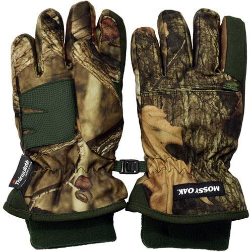 Mossy Oak Youth Heavyweight Gloves, Mossy Oak Breakup Infinity