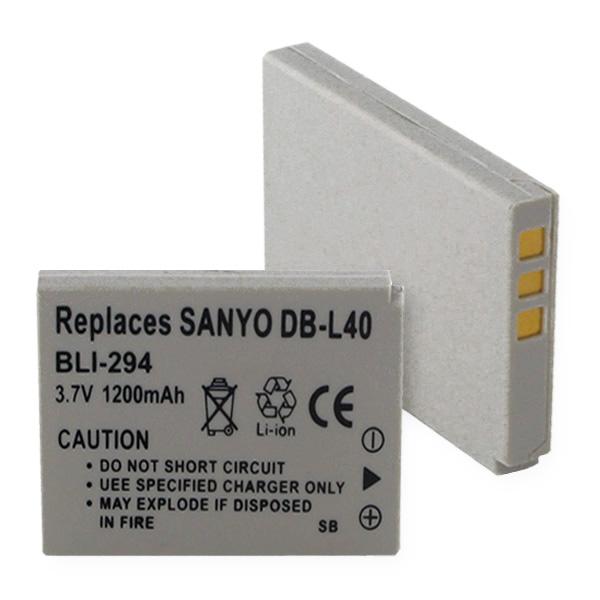 SANYO DB-L40 LI-ION 1200mAh    Digital Battery