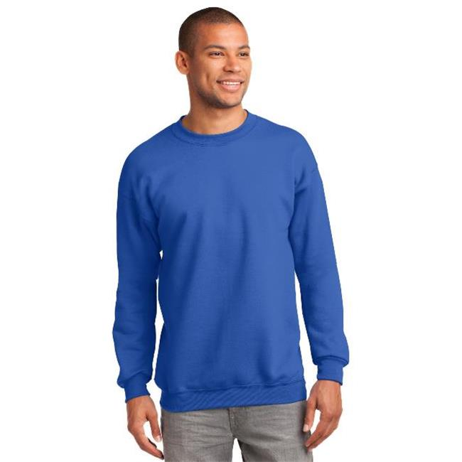 Port & Company® Tall Essential Fleece Crewneck Sweatshirt. Pc90t Royal Xlt - image 1 de 1