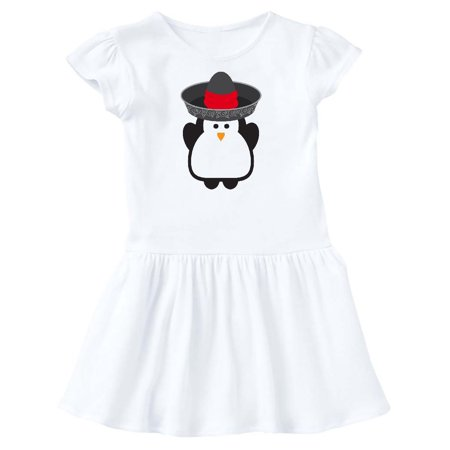 Cinco De Mayo Fiesta Penguin Toddler Dress
