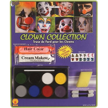 Halloween Makeup Collection (Clown Collection Kit)