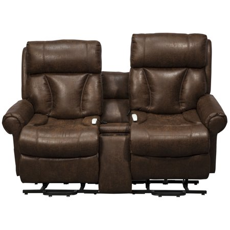 Superb Easy Comfort Companion Loveseat Lift Chair Recliners Tobacco Uwap Interior Chair Design Uwaporg
