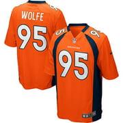 Derek Wolfe Denver Broncos Nike Youth Team Color Game Jersey - Orange