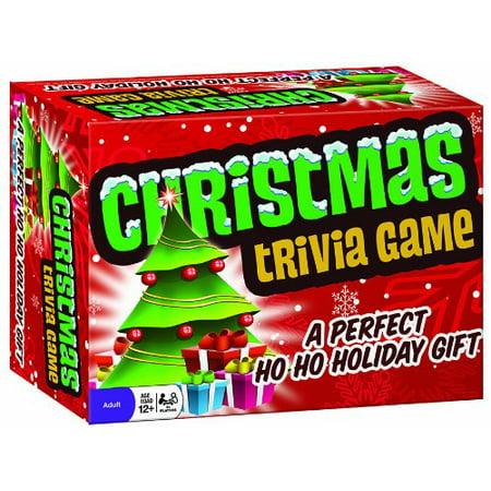 Christmas Trivia Game, Ho-ho-hope you know all the answers to this Christmas trivia game! By Cobble Hill ()
