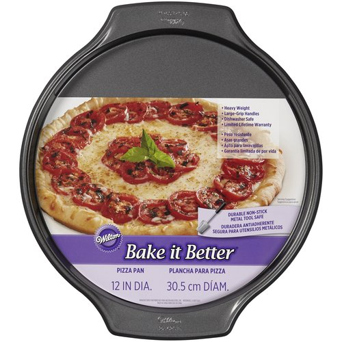 "Wilton Bake it Better 12"" Pizza Pan"