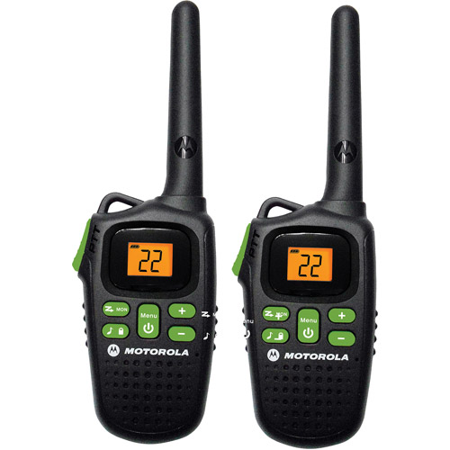 Motorola MD200R - 20 Mile Range Talkabout 2-Way Radios, PAIR