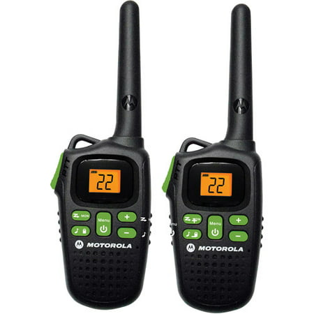 Motorola MD200R - 20 Mile Range Talkabout 2-Way Radios, PAIR