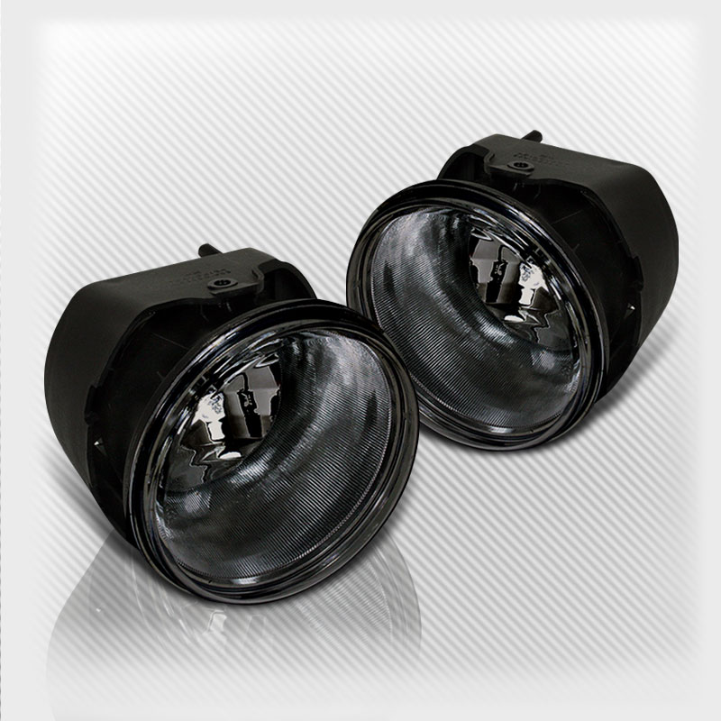Smoked Chrysler 300 Caliber Bumper Fog Lights Lamps+Bulbs Switch Wiring Pair Left+Right