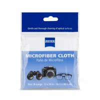 ZEISS Jumbo Microfiber Cloth (Cleans All Lens Types), 12x16in Lens Cleaning Cloth