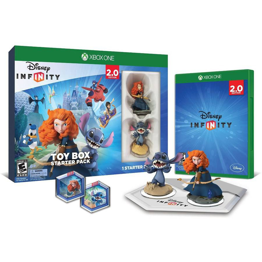 Disney Infinity: Disney Originals (2.0 Edition) Toy Box Starter Pack (Xbox One)