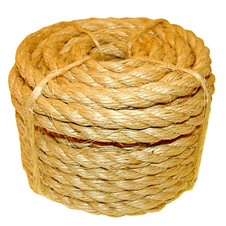 Lehigh Group 8035LHD Twisted Sisal Rope