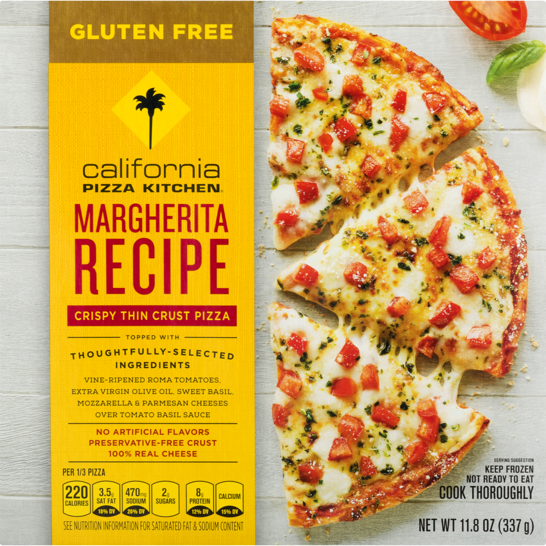 California Pizza Kitchen Gluten Free Dairy Free