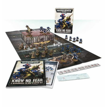 Know No Fear Medium Starter Set Warhammer 40K Miniature Game Games Workshop](Fear Factor Game For Halloween)