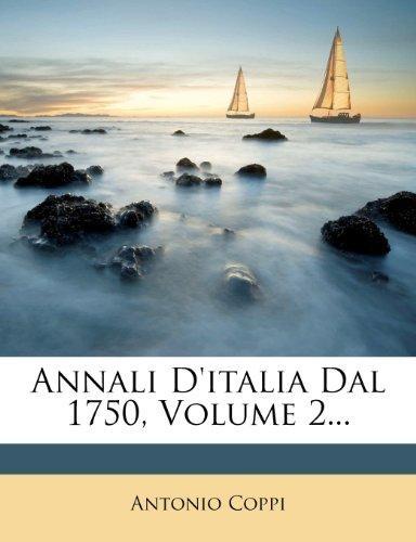 Annali D'Italia Dal 1750, Volume 2... by