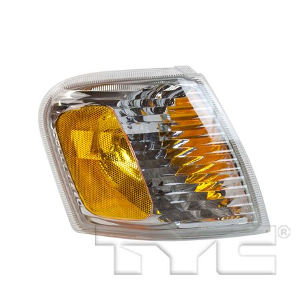 CarLights360: Fits 2001 2002 2003 2004 2005 Ford Explorer Sport Trac Turn Signal / Parking Light Assembly Passenger Side (Right) DOT Certified  - Replacement for FO2521164 (2003 Explorer Turn Signal)