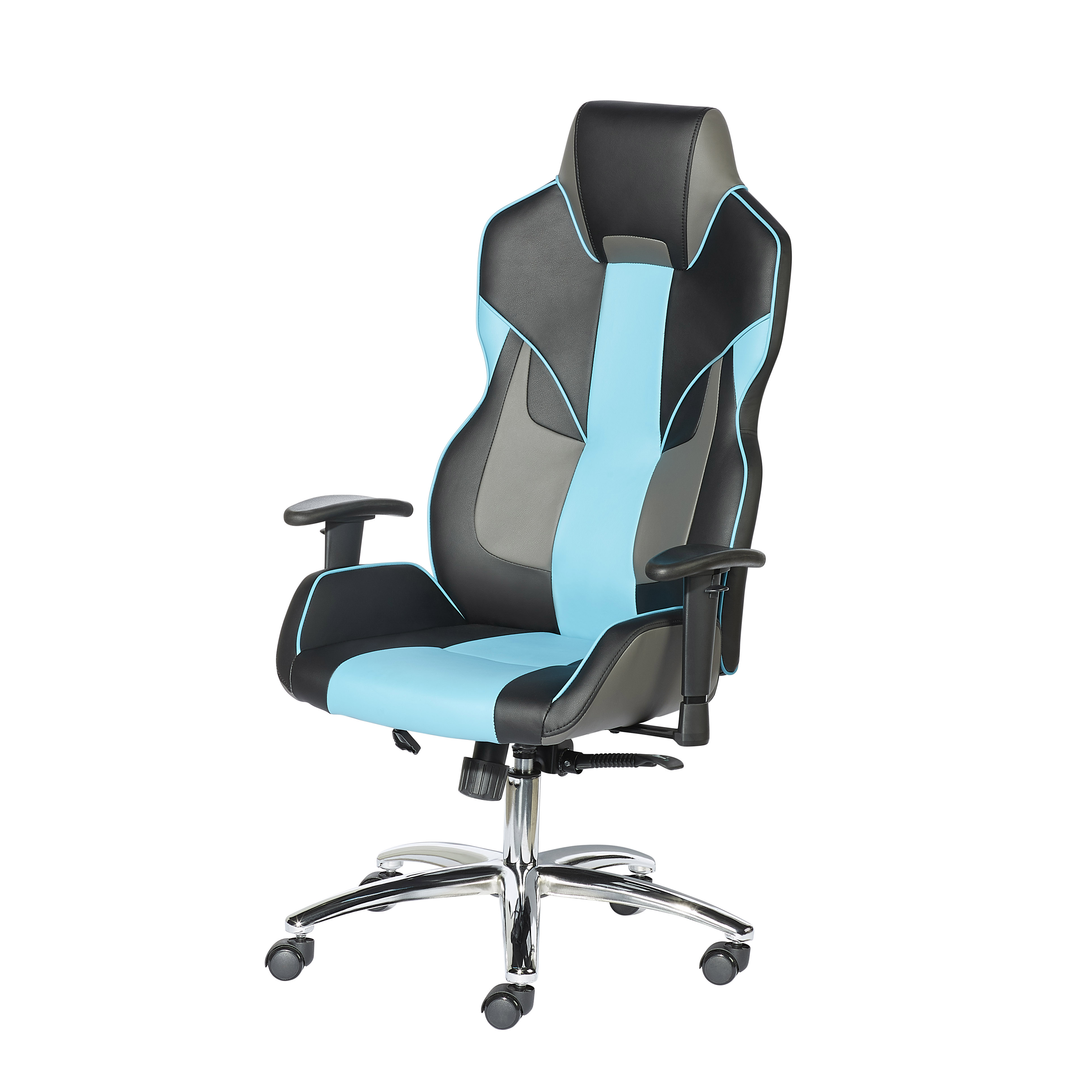 X Rocker PC Gaming Chair, Black and Red
