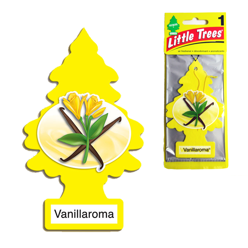 12 Little Trees Car Air Freshener Vanilla Scent Hanging Auto RV Home Office Room