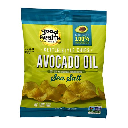 Good Health Kettle Chips Sea Salt - 30 - 1 oz (28 g) Bags