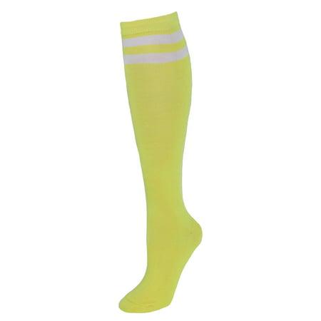 Women's Striped Top Knee High Socks