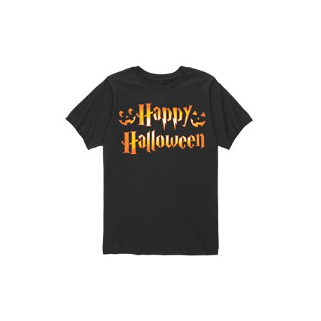 Happy Halloween Carved - Toddler Short Sleeve Tee - Short Halloween Poems For Toddlers