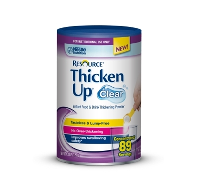 Resource ThickenUp Clear Food Thickener, 4.4 Ounce, Unflavored, by Nestle Case of 12 by NESTLE HEALTHCARE NUTRITION