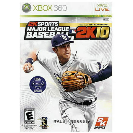 2K Sports Mlb 2K10  Xbox 360    Pre Owned