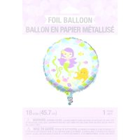 Mermaid Friends Foil Balloon, One Size, Multicolor, Balloons sold flat. Helium tanks and air pumps can be purchased separately on our site. By Creative Converting
