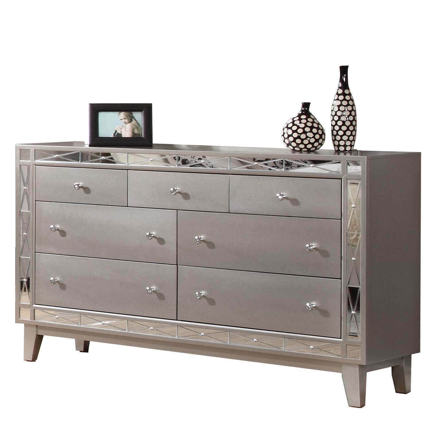 Coaster Company Leighton Dresser, Metallic Mercury