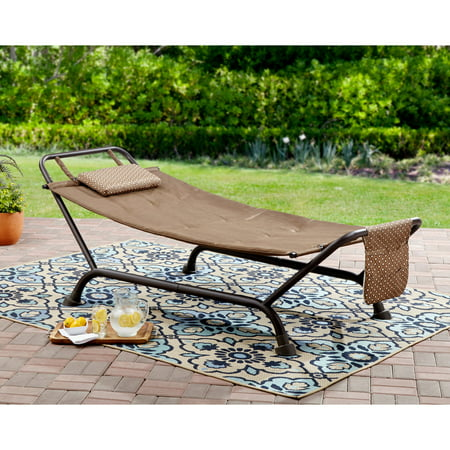 Brown Deluxe Board - Mainstays Wentworth Deluxe Hammock with Stand