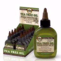 - Difeel Tea Tree Oil Premium Natural Hair Oil 2.5 oz. (Pack of 6)