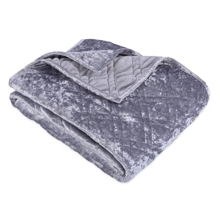 db6db6df4fb Better Homes   Gardens Crushed Velvet Throw Blanket