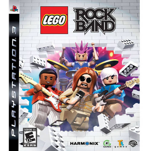 Lego Rock Band (Playstation 3) Used by TT Games Ltd