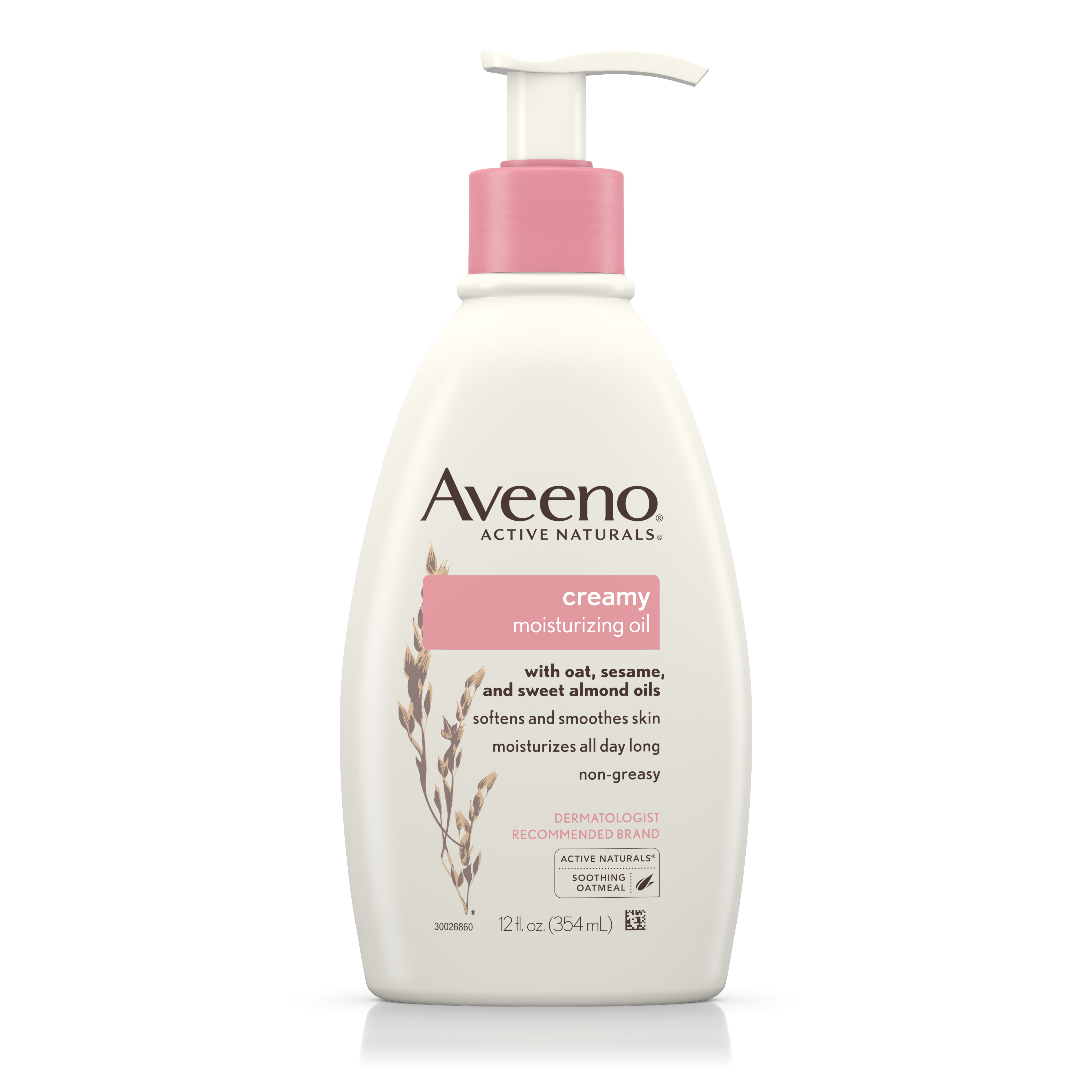 Aveeno Creamy Moisturizing Body Oil For Dry Skin, 12 Fl. Oz - Walmart.com