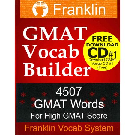 Franklin Gmat Vocab Builder  4507 Gmat Words For High Gmat Score  Free Download Cd  1 Of 22 Cds Of Gmat Vocabulary