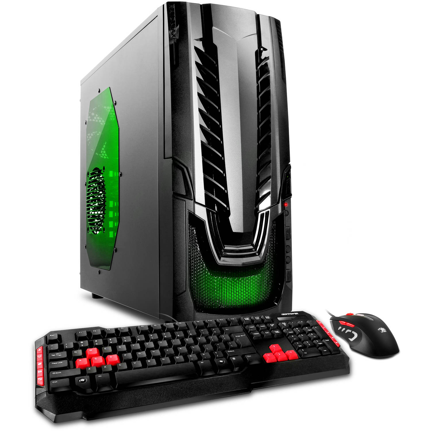 iBUYPOWER WA560G Gaming Desktop PC with AMD FX-6300 Quad-Core Processor, 8GB Memory, 1TB Hard Drive and Windows 10 Home (Monitor Not Included)