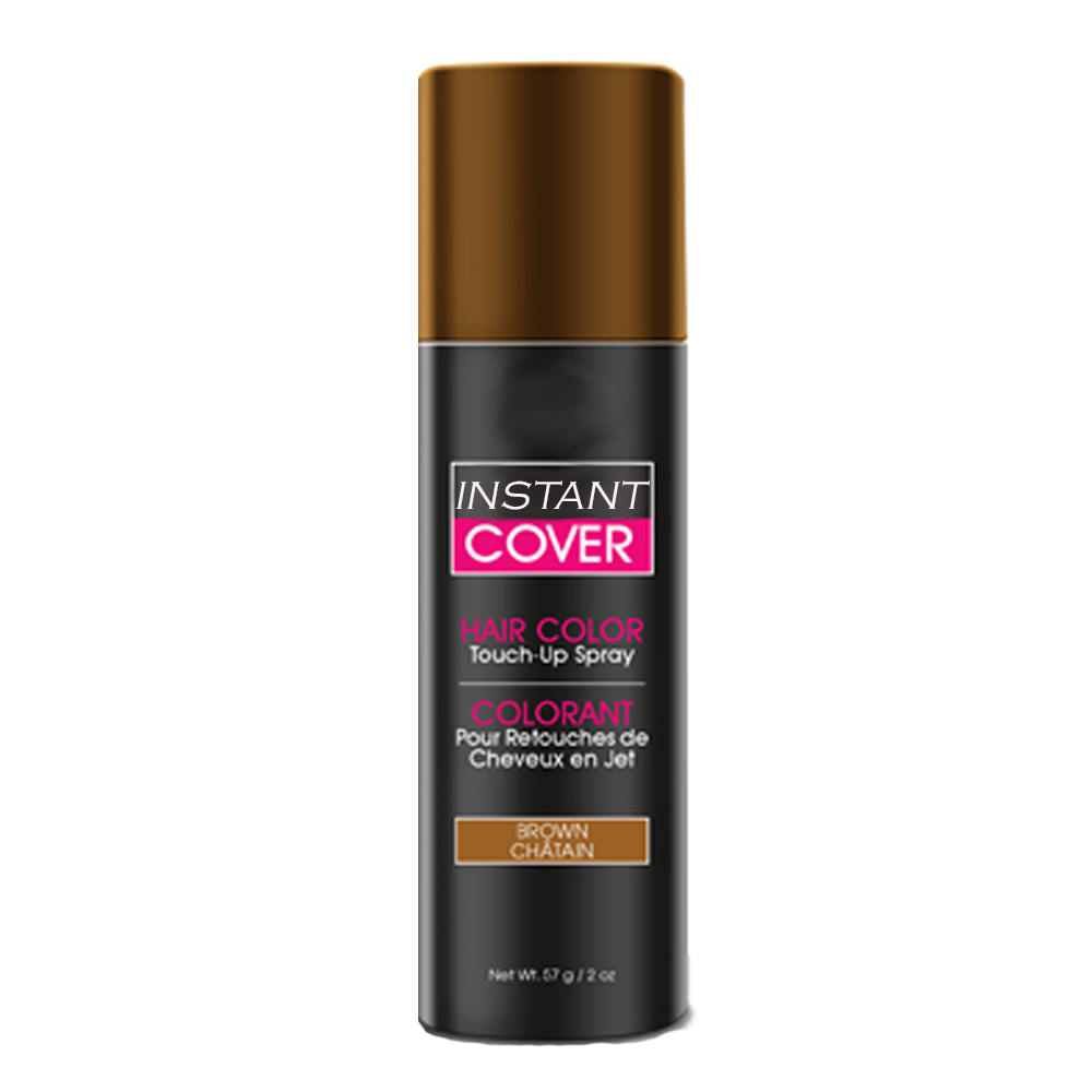 Cover Your Gray Temporary Hair Color Touch Up Spray Brown Walmart