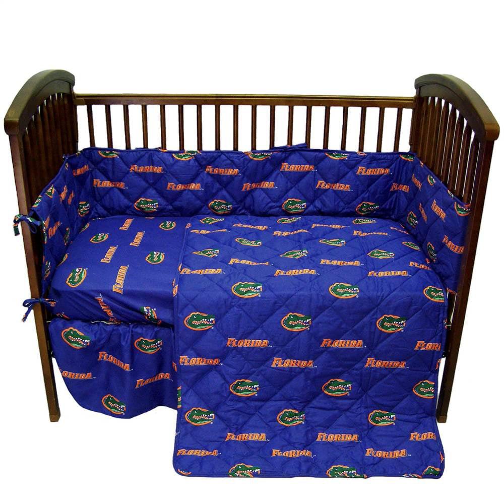 Florida 5 Pc Baby Crib Logo Bedding Set