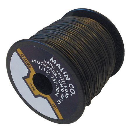 MALIN COMPANY 34-0510-005S Lockwire,Spool,0.051 Dia,715 ft.