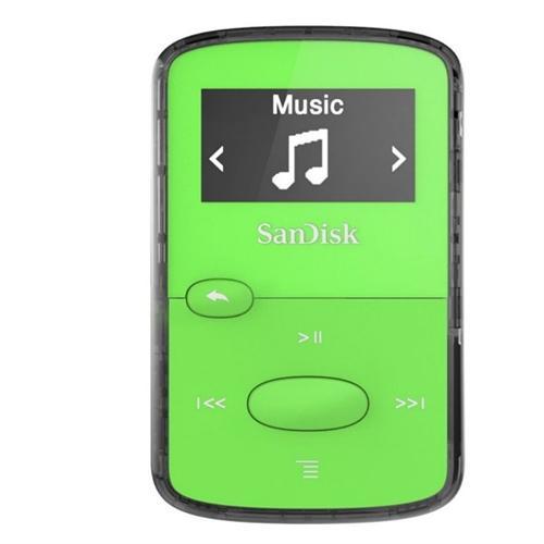 Sandisk Sdmx26-008g-g46g 8 Gb Flash Mp3 Player - Green - Fm Tuner - Battery Built-in - Microsd Card - Aac, Mp3, Wma, Wav, Ogg Vorbis, Audible, Flac - 18 Hour (sdmx26-008g-g46g)