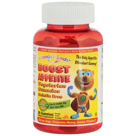 Vitamin Friends® Boost Appetite Vegetarian Orange Pectin Dietary Supplement Gummies 36 ct