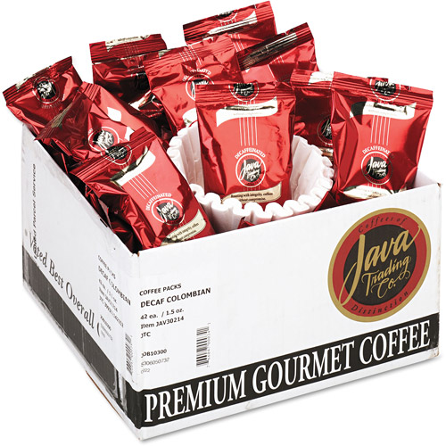 Distant Lands Colombian Decaf Coffee Portion Packs