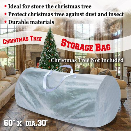 Heavy Duty Large Artificial Christmas Tree Storage Bag For Clean Up ...