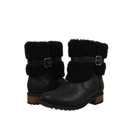 Ugg Sheepskin Boots (UGG Women's Blayre II Buckle Sheepskin Collared)