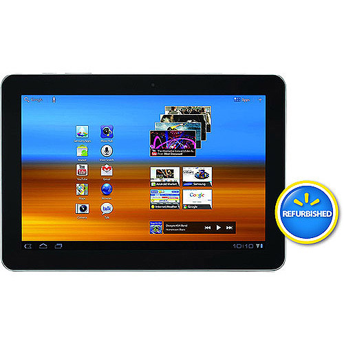 "Samsung Galaxy Tab 10.1"" 16GB Memory Refurbished"