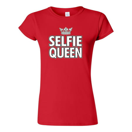 3e2b4b2a9 City Shirts - Junior Selfie Queen Crown Funny Humor DT T-Shirt Tee ...