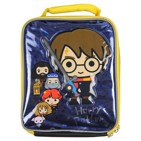 Harry Potter Lunch Box Soft Kit Insulated Bag Chibi