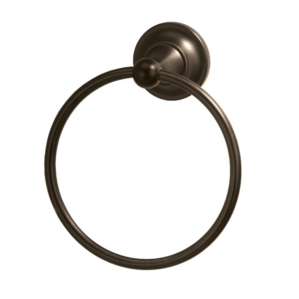 4342 Tiara Towel Ring, Bronze, Capturing a time-honored visage, The Tiara suite emits a luxurious appeal with its... by