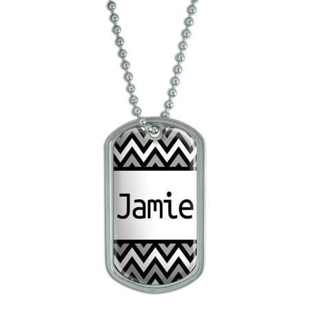 Male Names - Jamie - Dog Tag