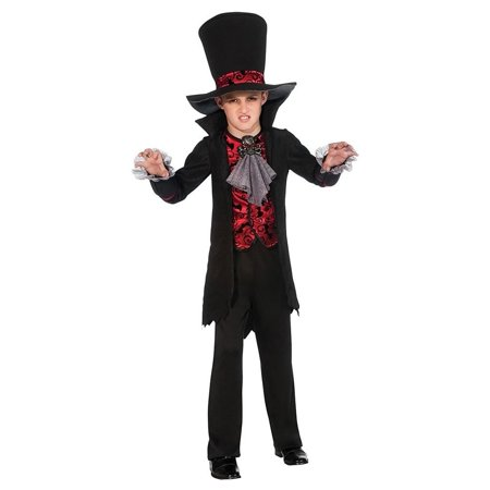 Vampire Lord Child size S 4/6 Costume Outfit Rubie's Arisen Shadows